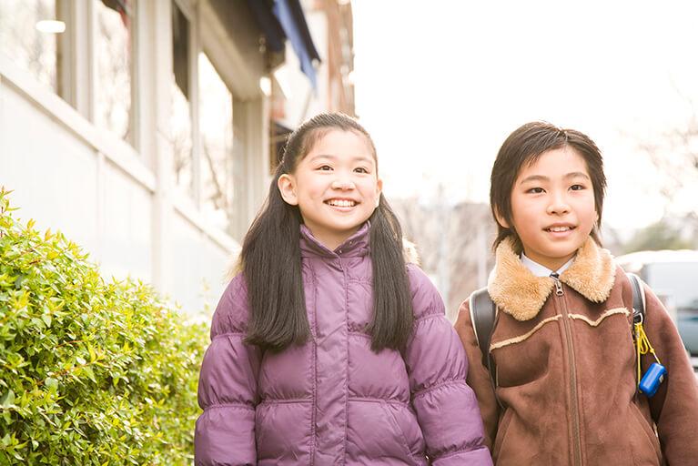 学童期(7~12歳)の予防矯正